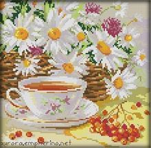 Рукоделие, Комплект для вышивки комплект, Послеобеденный чай чашка цветочным узором крестом комплект живопись для украшения дома свадебный подарок(China (Mainland))