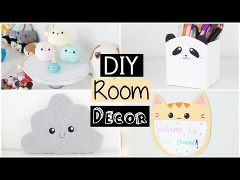 DIY Room Decor 2016 - EASY & INEXPENSIVE Ideas! - YouTube