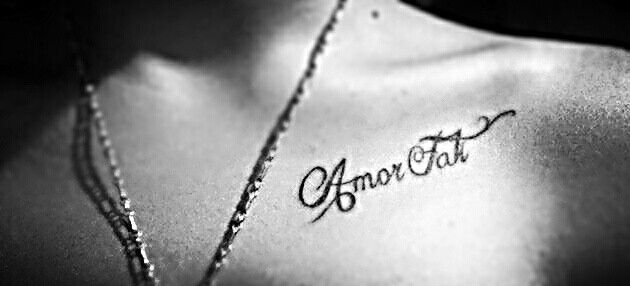 Amor fati the love of fate philosophy pinterest my for Amor fati tattoo