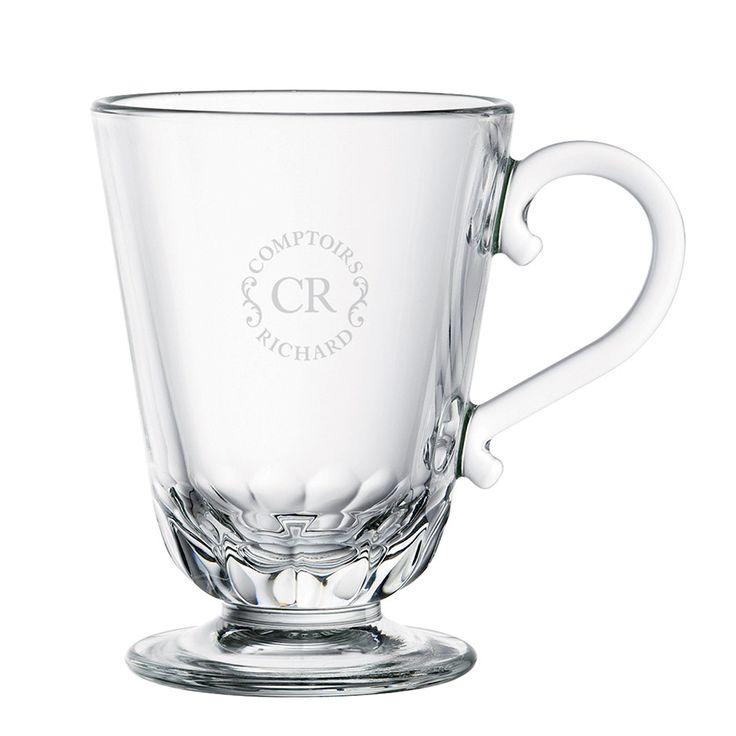 Mug en verre Comptoirs Richard