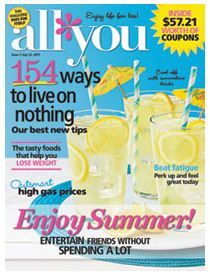 All You Magazine Subscription Deal & Thank You Gift