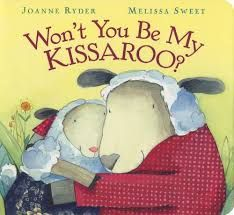 Morning kiss, breakfast kiss, hello kiss, playful kiss, birthday kiss -- so many warmly wonderful kisses! Paperback reissue of a sweet story from 2004. Just one of many kids' books reviewed at www.infodad.com. Direct link: http://transcentury.blogspot.com/2015/12/tradition-time.html