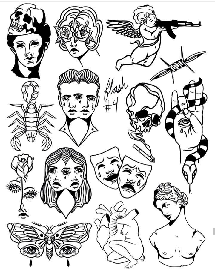 Android Tattoo In 2020 Doodle Tattoo Tattoo Flash Art Tattoo Drawings