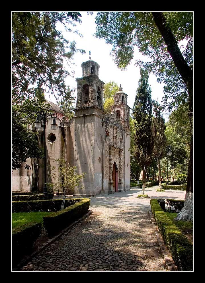 Capilla de la Purísima Concepción La Conchita, Coyoacán.