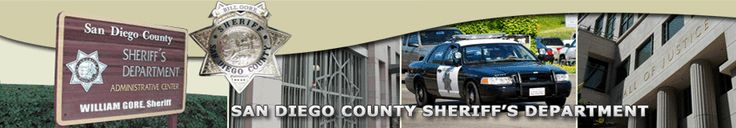 San Diego County Sheriff's Department |