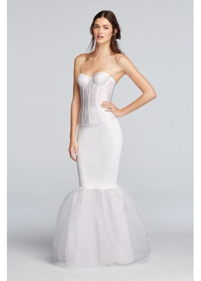 10 best wedding dress undergarments images on pinterest for Mermaid slip for wedding dress