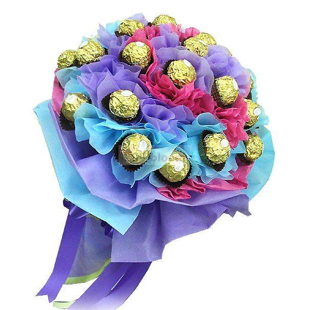98 best Fererro Rocher flower bouquet images on Pinterest ...