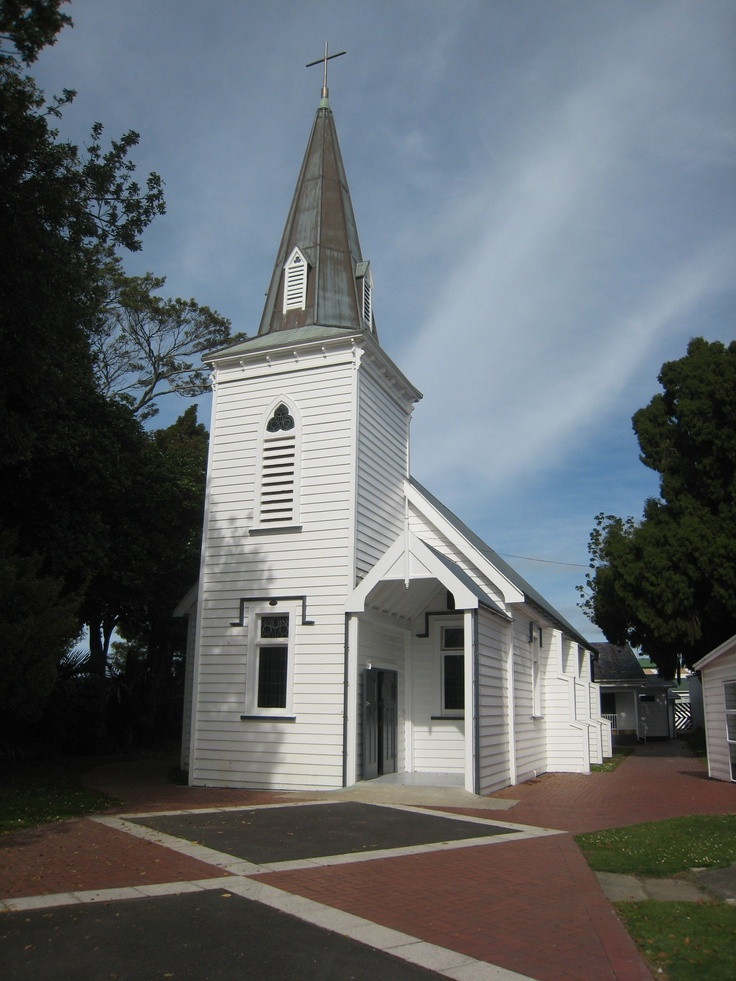 St Stephens Anglican Church. Location of the last European eaten by Maori in NZ (Julius Volkner, 1865). My Dad was the Methodist Minister in Opotiki and was friends with the Vicar so we got to go here now and then.