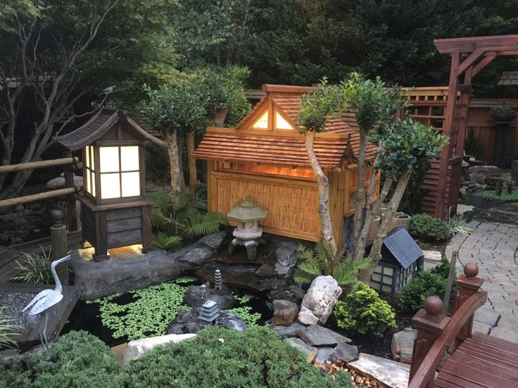 Japanese Garden At Night Part 71