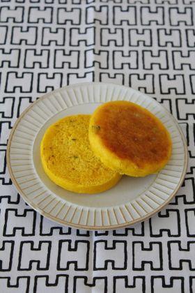 「かぼちゃのイングリッシュマフィン」mori-no-umi | お菓子・パンのレシピや作り方【corecle*コレクル】