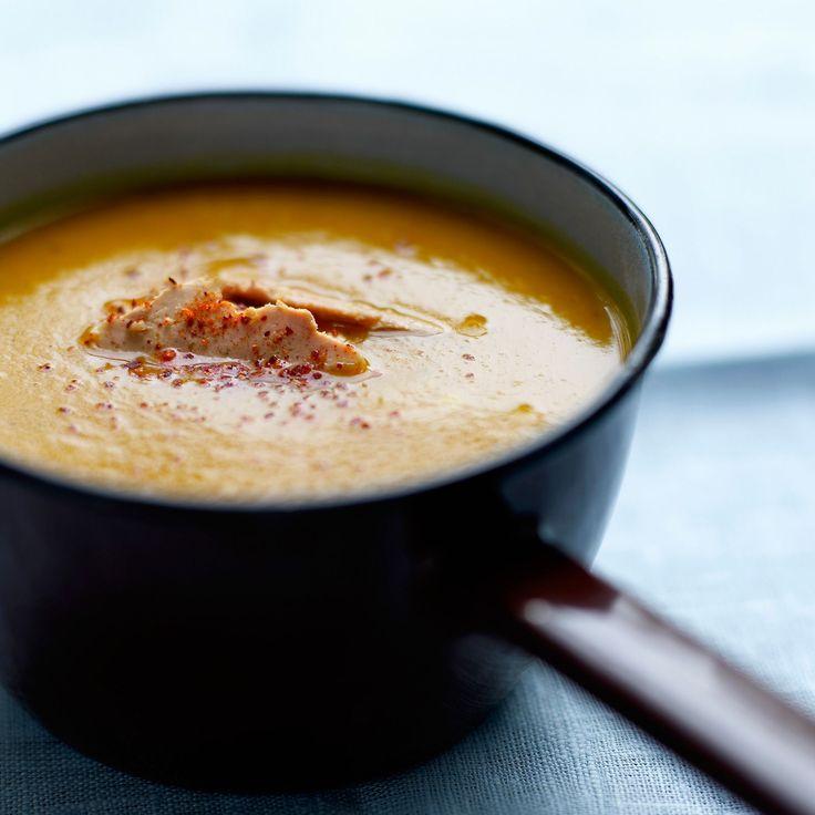 Soupe au potimarron originale à la réglisse