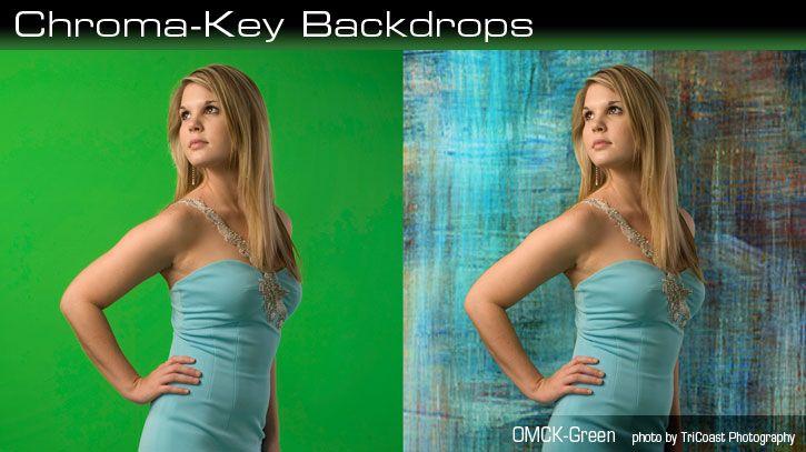 Photography Backdrops-Chroma Key Backdrops-Denny Mfg Co.