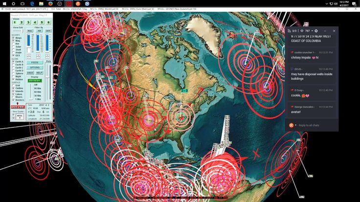 4/02/2017 -- Nightly Earthquake Update + Forecast -- South America + Caribbean Hit as expected #Dutchsinse