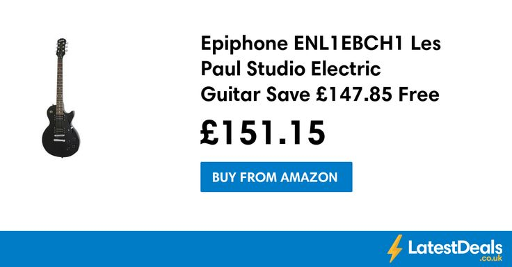 Epiphone ENL1EBCH1 Les Paul Studio Electric Guitar Save £147.85 Free Delivery, £151.15 at Amazon