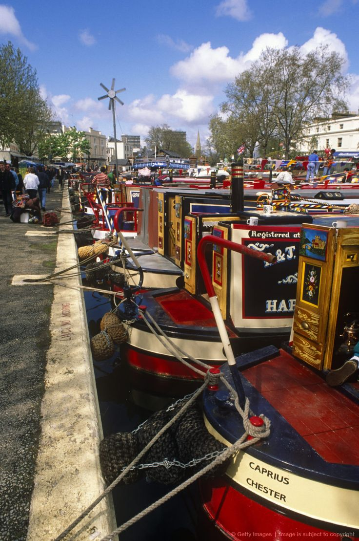 England, London. Canal Barge Festival in Little Venice, North London. posted by www.futons-direct.co.uk