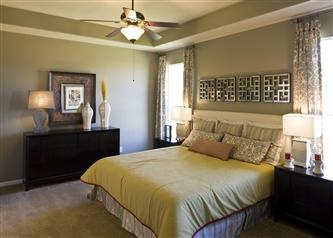 Sage Green Painted Master Bedroom With Tray Ceiling Master Bedroom Pinterest More Master