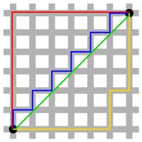 Taxicab geometry - Wikipedia, the free encyclopedia