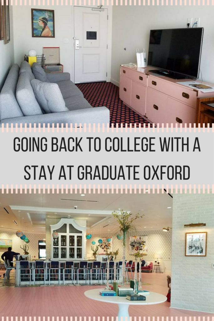 Going Back to College with a Stay at Graduate Oxford