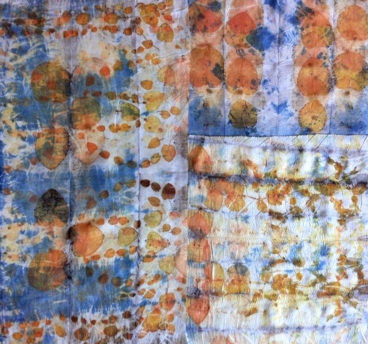 Eco Printing, Textile Artist, Textile Art, Fiber Art, Textile Design