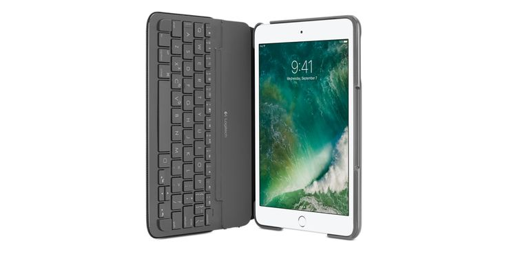 The Logitech Canvas Keyboard Case protects your iPad mini 3, while letting you use it like a laptop. Buy now at the Apple Online Store.