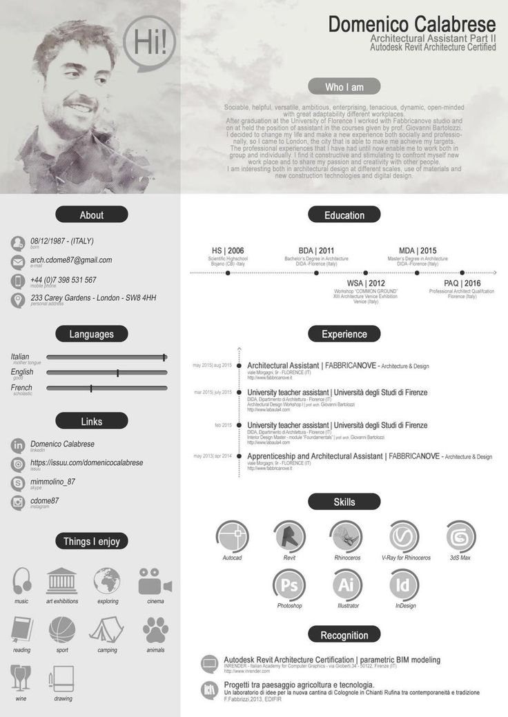 7 best james yuan images on Pinterest Resume, Curriculum and Cv - architecture resume