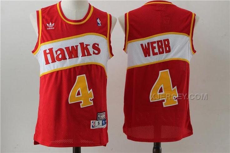 1fc7f5648 ... NBA Jersey F140 httpwww.xjersey.comhawks-4-spud-webb-red-hardwood- Spud  Webb 4 Atlanta Hawks Throwback ...