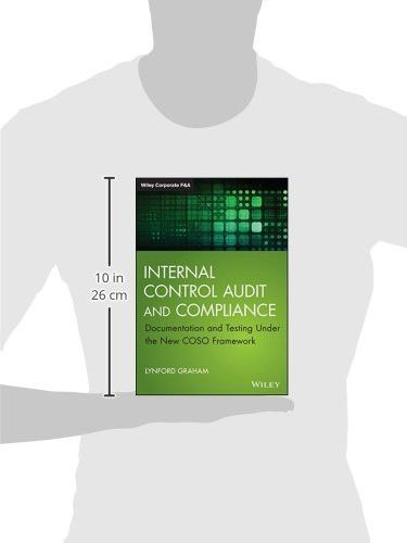 Internal Control Audit and Compliance: Documentation and Testing Under the New COSO Framework (Wiley