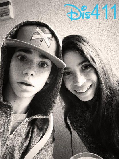 Photo: Cameron Boyce Wished His Sister A Happy Birthday December 28, 2013
