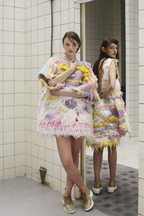 Tereza Rozálie Kladošová, kolekce Miau, 2014, jumper, fashion, foto: Hana Knížová #design #czechdesign