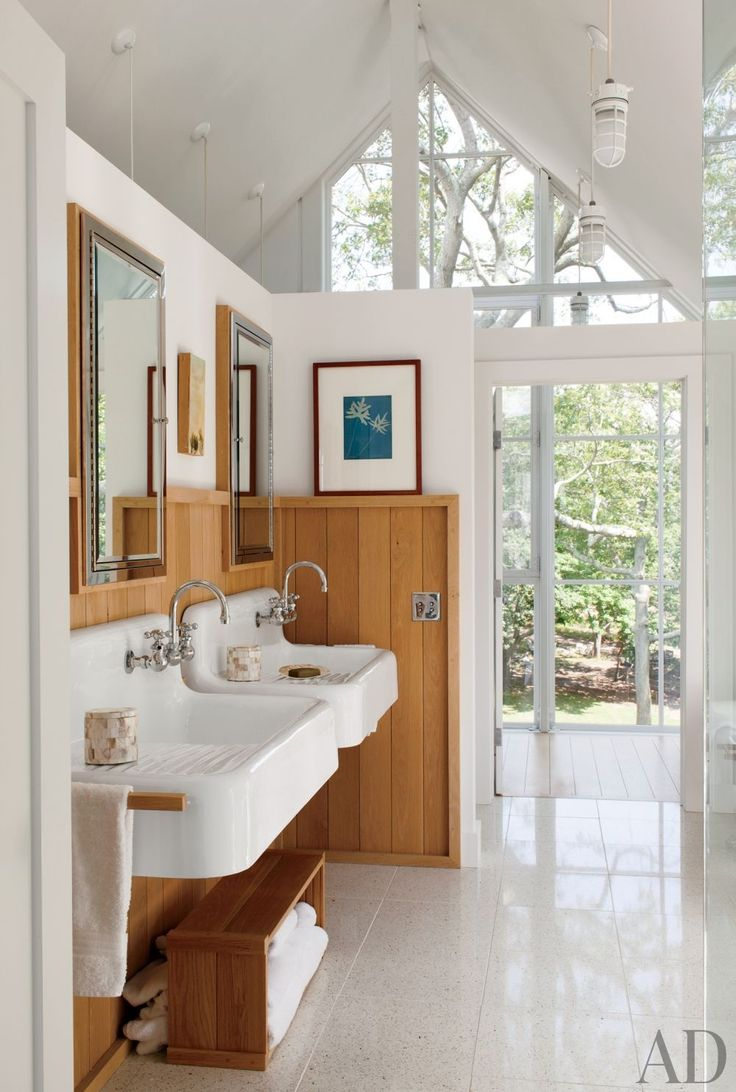 Beach Bathroom By Philip Galanes And Michael Haverland