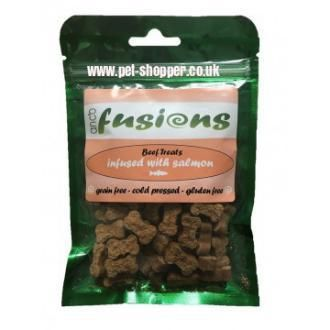 Anco Salmon Fusions Cold Pressed Dog Treats
