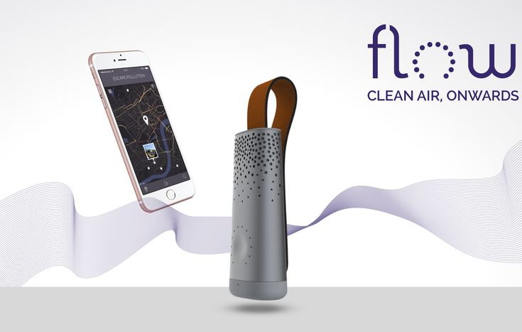 Flow Is The First Smart Air Quality Tracker [CES 2017]