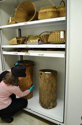Smithsonian Museum Support Center, Colecciones Etnográfcias