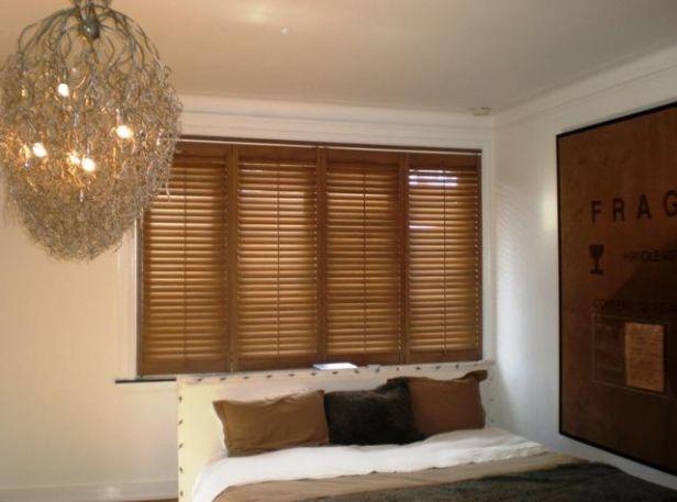 Romantische Shutters, maken je slaapkamer mooi.