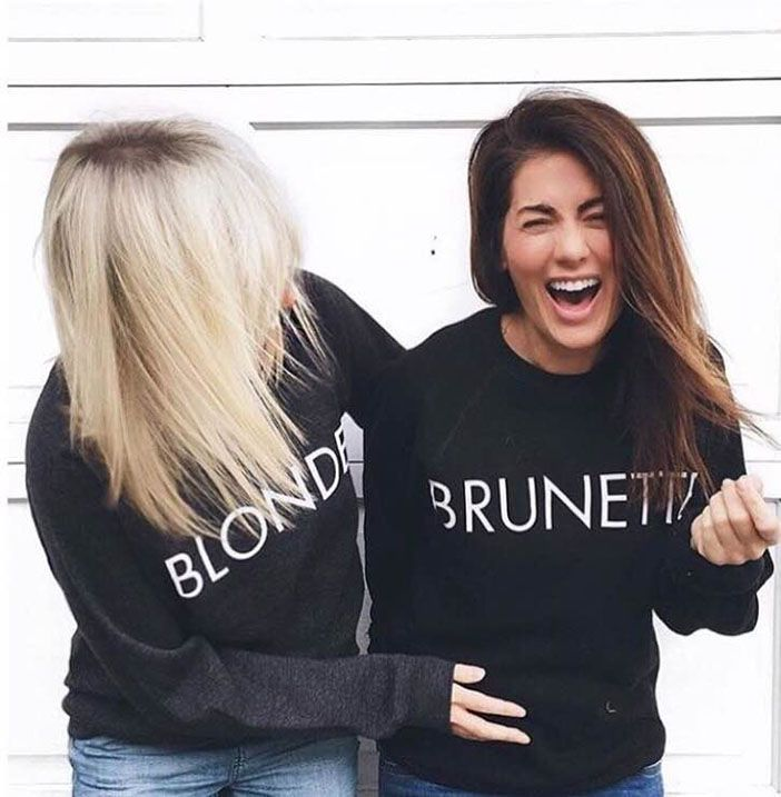 Do blondes or brunettes have more fun?! I think it's a tie!! http://rstyle.me/n/b5us9ezb96