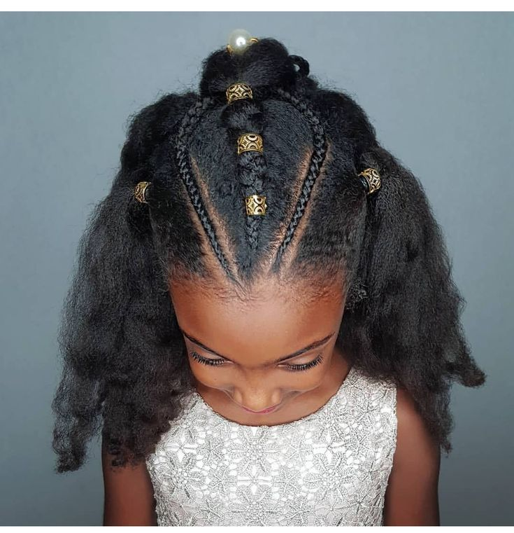 Braids- hairstyle for kinky haired girls