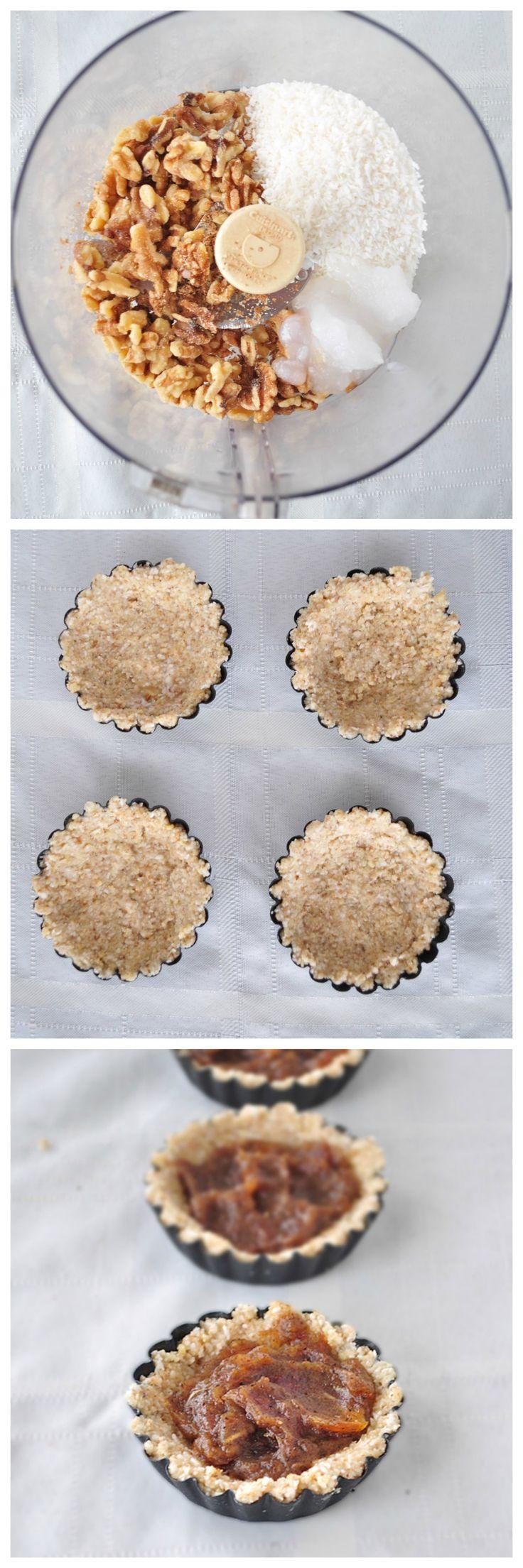 Coconut Caramel Tartlets