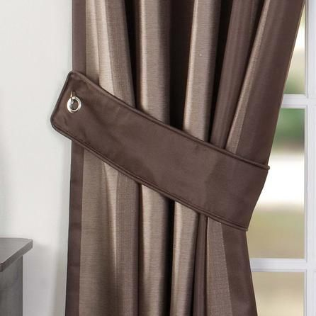 Dunelm Brown Curtain Tiebacks