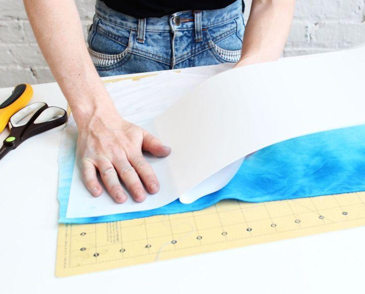 DIY Lampshade whith Panel Frames Using Adhesive Styrene Sheets