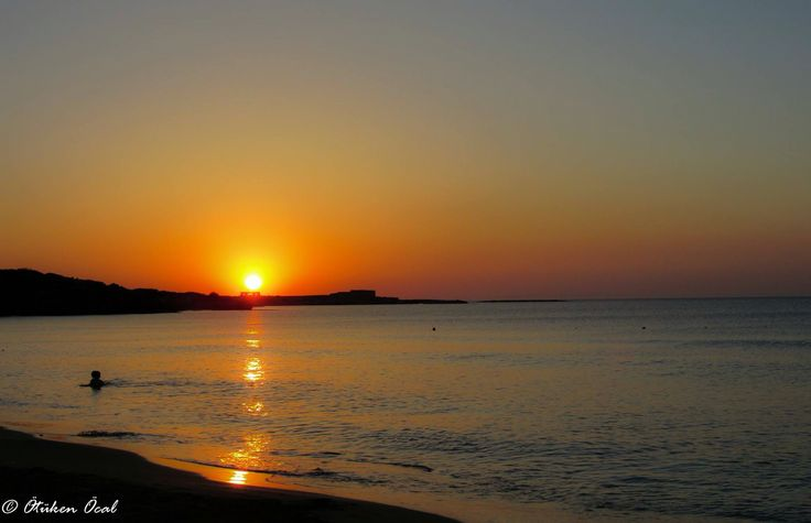 Sunset-sea-sand