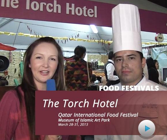Chef Rene Alcocer interviewed by Think Big Qatar at #QIFF Qatar International Food Festival