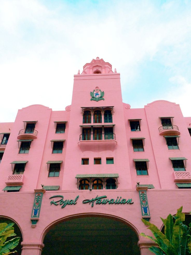 The Royal Hawaiian Resort via happymundane.com