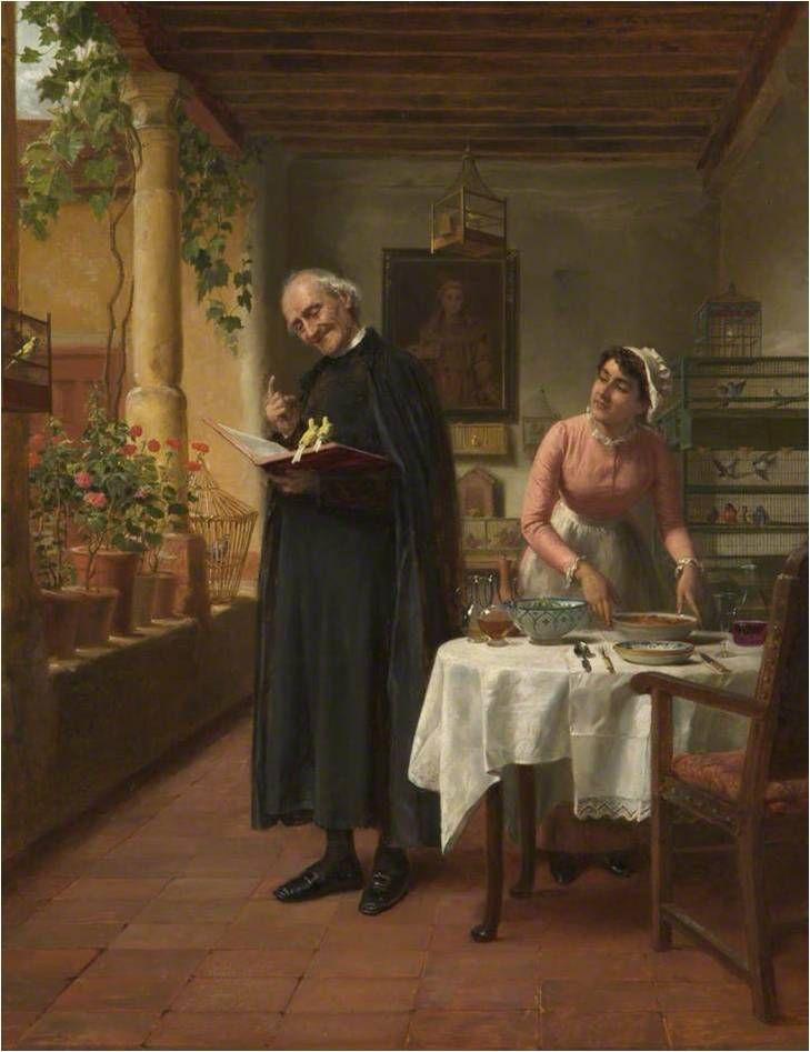 John Bagnold Burgess, Novodobý svatý František