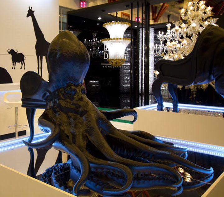 Ces incroyables chaises en forme d'animaux imprimées en 3D vous surprendront par leur réalisme