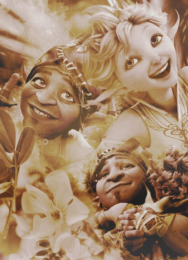 Dawn and Sunny in Strange Magic