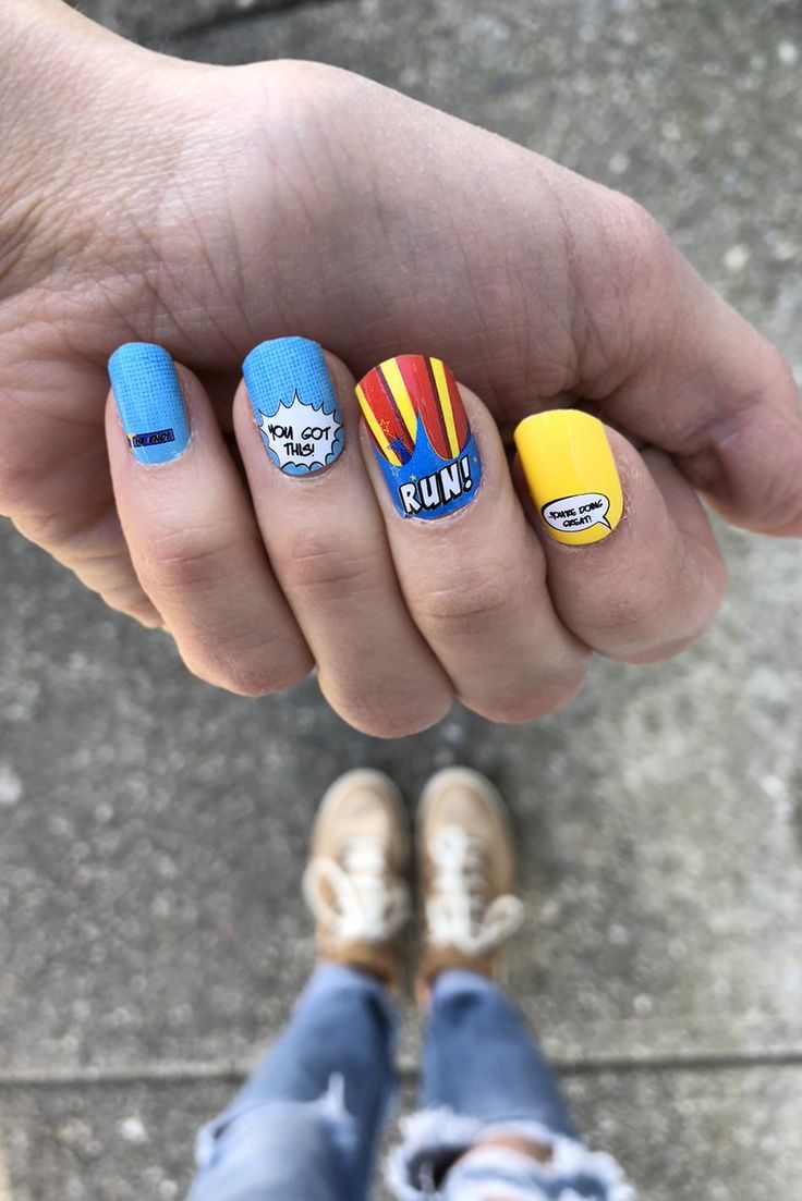 21 best Running Nail Art images on Pinterest | Marathons, Nail wraps ...