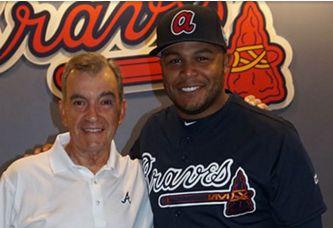 KNBSB - Koninklijke Nederlandse Baseball en Softball Bond - - Andruw Jones treedt toe tot Hall of Fame van Atlanta Braves