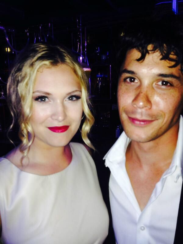 Photo of Bob Morley & Eliza Taylor for fans of Bellamy & Clarke (The 100).