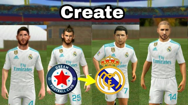 Dls New Real Madrid Kit Logo 2019 2020 Dream League Soccer Real Madrid Kit Real Madrid Real Madrid Club