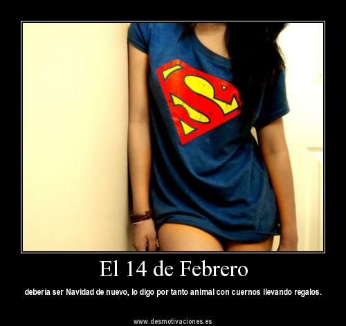 El 14 de Febrero (FOTO): Fashion, Quotes, Dream Closet, Clothing, Styles, Superman Tshirt, Thighs High Socks, T Shirts, Swag Girls